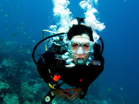 Scuba Diving Missionary in the Middle East